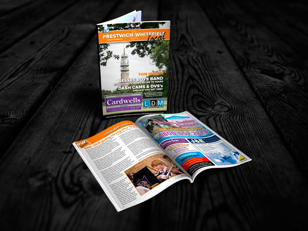 Advertising magazine in Prestwich and Whitefield