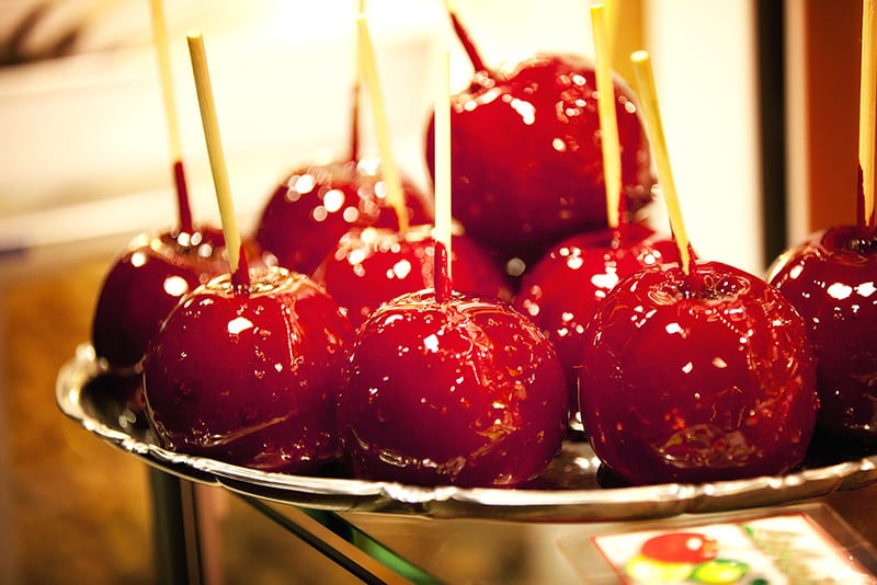 Toffee Apples – A Halloween treat