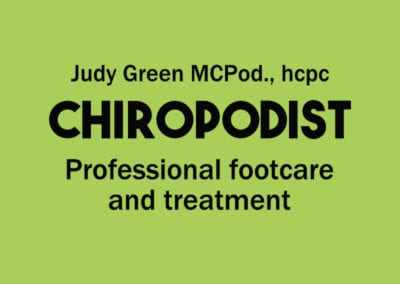 Judy Green Chiropodist
